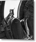 Aircraft Machine Gun Wwii Metal Print
