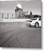 Airfield Drifting Metal Print