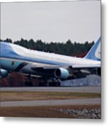 Airforce One Metal Print