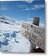 Airline Trail - White Mountains New Hampshire Metal Print