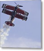 Airplane Performing Stunts At Airshow Photo Poster Print Metal Print