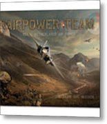 Airpower Team Metal Print