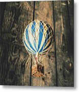 Airs Of An Indoor Retreat Metal Print