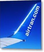 Collectible Airtran Wing Metal Print