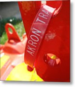 Akron Tractor Metal Print