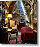 Al Capone's Cell - Scarface - Eastern State Penitentiary Metal Print