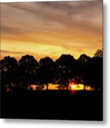 Alabama Sunrise Metal Print