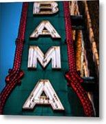 Alabama Theater Sign 1 Metal Print