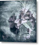 Alabaster Petals Metal Print