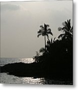 Alabaster Sunset Makena Landing Maui Hawaii Metal Print