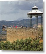 Alameda De Jose Antonio In Ronda Spain Metal Print