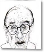 Alan Greenspan Metal Print