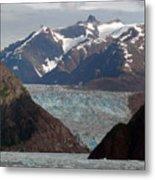 Alaska Blue Metal Print