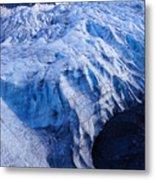 Alaska Exit Glacier Metal Print