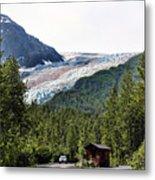 Alaska Glacier B Metal Print