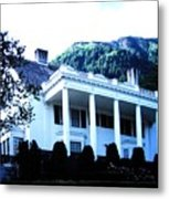 Alaska Governors Mansion Metal Print