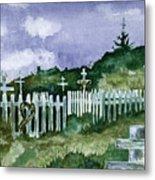 Alaska Graveyard  Metal Print