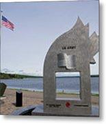 Alaska Highway Memorial Metal Print