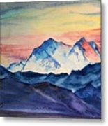 Alaska Mountain Metal Print