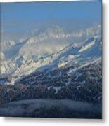 Alaska Mountain View Metal Print