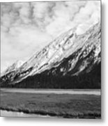 Alaska Mountains Metal Print