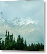 Alaska Range 2 Metal Print