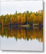 Alaska Reflection Metal Print
