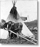 Alaska: Tepee, C1916 Metal Print