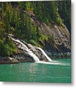 Alaska Tracy Arm Metal Print