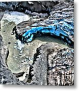 Alaskan Glacier Metal Print