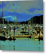 Alaskan Harbor 7 Metal Print