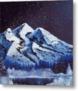 Alaskan Night Metal Print