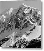 Alaskan Peak Metal Print