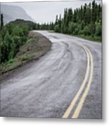 Alaskan Road Metal Print