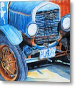 Alaskan Rust II - Model T '27 Metal Print