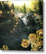 Alaskan Summer Day Metal Print