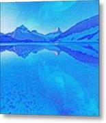 Alaskan Winter Night By Adam Asar 3 Metal Print