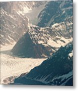 Alasks Glacier Range Denali Nation Park  Metal Print