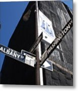 Albany And Washington Metal Print