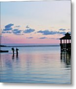 Outer Banks,nc,sunset Metal Print