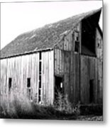 Albert City Barn 3 Metal Print