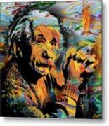 Albert Einstein - By Prar Metal Print