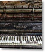 Albrecht Company Piano Metal Print