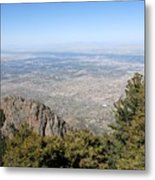 Albuquerque And The Rio Grande Metal Print