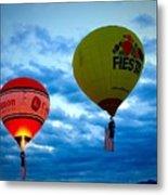 Albuquerque Balloon Festival Metal Print