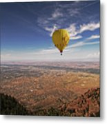 Albuquerque Flight Metal Print