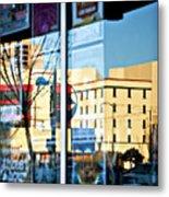 Albuquerque Reflections Metal Print