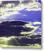 Albuquerque Sky Metal Print