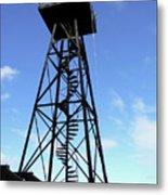 Alcatraz Guard Tower - San Francisco Metal Print