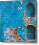 Alcoves In A Wall Metal Print